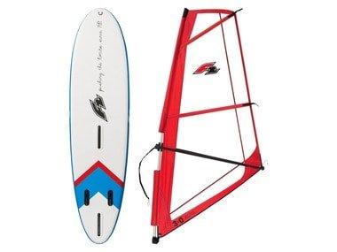 F2 WindSUP Sada paddleboardu s oplachtěním