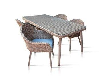 FLORABEST® Sada zahradního nábytku