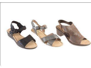 Footflexx Dámské kožené sandály