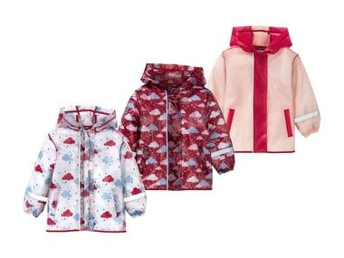 LUPILU® Dívčí bunda do deště