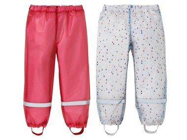 LUPILU® Dívčí kalhoty do deště