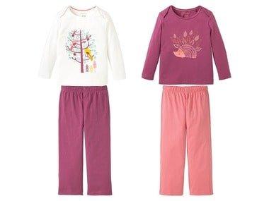 LUPILU® Dívčí pyžamo BIO C2C