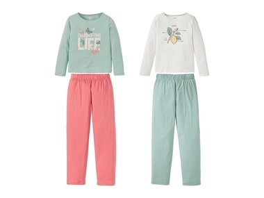 PEPPERTS® Dívčí pyžamo BIO C2C
