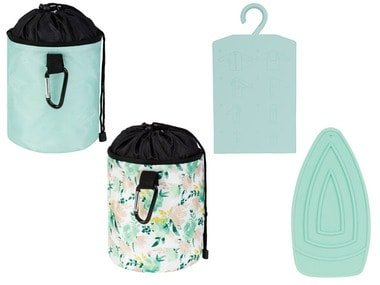 AQUAPUR® Pomůcka na skládání oblečení / podložka pod žehličku / vak na kolíčky