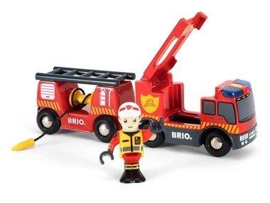 BRIO World Hasičský záchranný vůz 33811