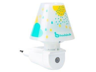 Badabulle Dětská noční lampička do zásuvky (modrá)