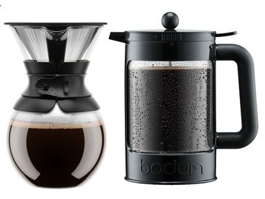 Bodum Kávovar Pour-Over / Konvice na kávu French Press