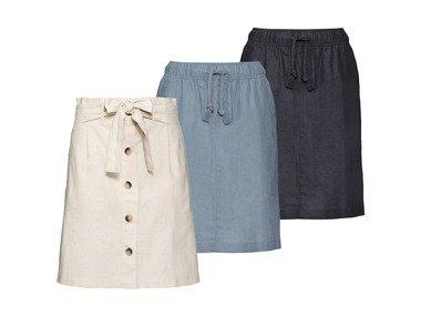 ESMARA® Dámská lněná sukně