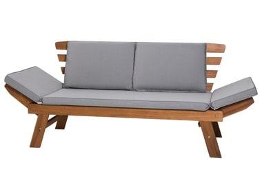 FLORABEST® Dřevěná lavice s polstrováním ACACIA