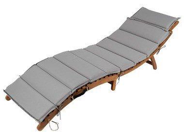 FLORABEST® Dřevěné skládací lehátko ACACIA