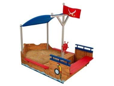 KidKraft Pískoviště Pirátská loď