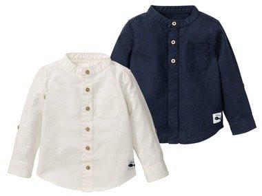 LUPILU® Chlapecká lněná košile BIO
