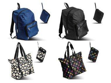 TOPMOVE® Skládací batoh / skládací nákupní taška
