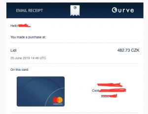 Karta Curve: sjednoťte vaše platební karty do jedné (150Kč zdarma) 1