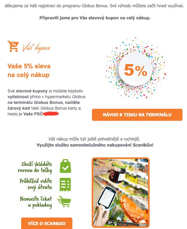 Globus Bonus - program který ušetří peníze za nákupy 3