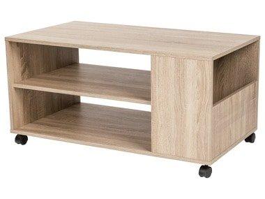 LIVARNOLIVING®  Konferenční stolek s kolečky