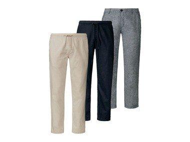 LIVERGY® Pánské lněné kalhoty XXL