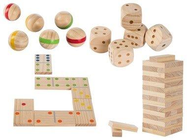 PLAYTIVE® Dřevěná venkovní hra