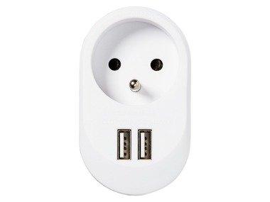 SILVERCREST® Zásuvka s USB portem