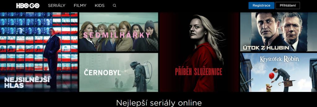 HBO GO - měsíc zdarma - seriálové novinky i filmy online 1