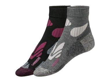 CRIVIT® Dámské turistické ponožky