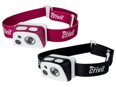CRIVIT® LED čelovka se senzorem