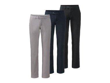 "LIVERGY® Pánské chino kalhoty BIO ""Straight Fit"""