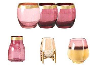 MELINERA® Dekorativní sklo / svícny