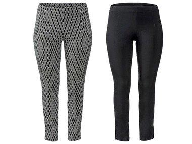 ESMARA® Dámské strečové kalhoty XXL