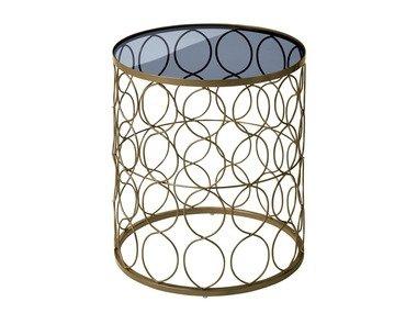 LIVARNOLIVING®  Dekorativní stolek s tónovaným sklem