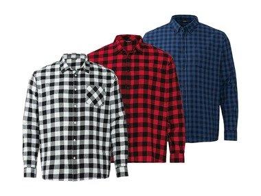 LIVERGY® Pánská flanelová košile XXL