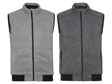 LIVERGY® Pánská fleecová vesta