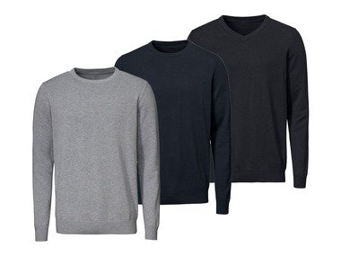 LIVERGY® Pánský úpletový svetr