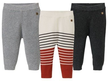 LUPILU® Chlapecké pletené kalhoty BIO