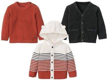 LUPILU® Chlapecký pletený svetr BIO