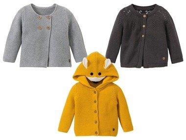 LUPILU® Dívčí pletený svetr BIO