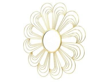 MELINERA® Dekorativní zrcadlo / kovová polička (oblouky)