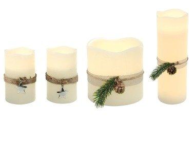 MELINERA® LED svíčka z přírodního vosku