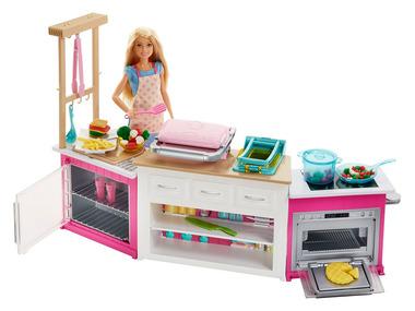Barbie Sada kuchyně snů s panenkou