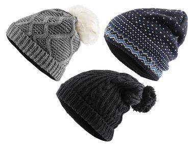 CRIVIT® Dámská pletená čepice