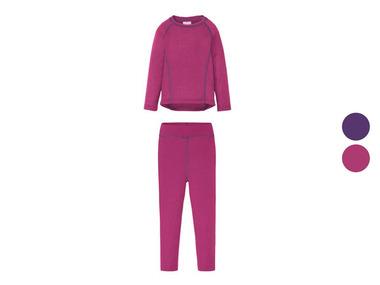 CRIVIT® Dívčí spodní termo prádlo