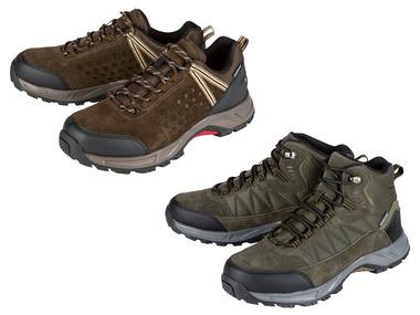 CRIVIT® Pánská kožená trekingová obuv