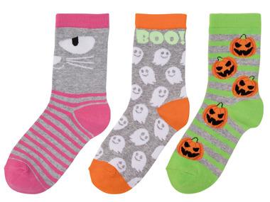 Dívčí ponožky na Halloween
