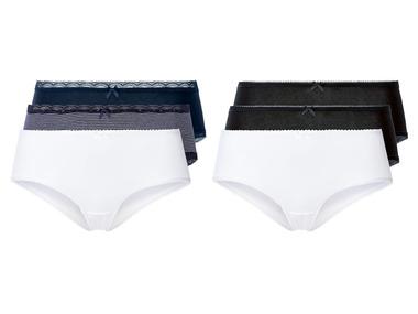 ESMARA® Dámské kalhotky BIO, 3 kusy