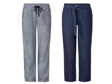 ESMARA® Dámské lněné kalhoty XXL