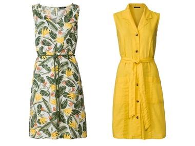ESMARA® Dámské lněné šaty