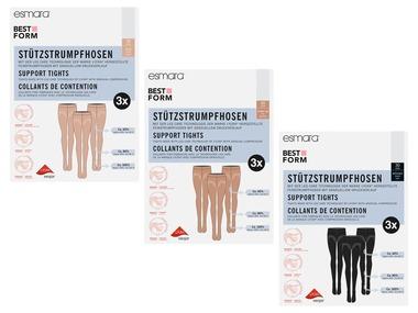 ESMARA® Dámské podpůrné punčochové kalhoty 30 DEN XXL
