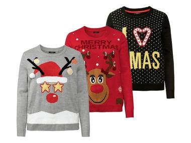 ESMARA® Dámský vánoční svetr XXL
