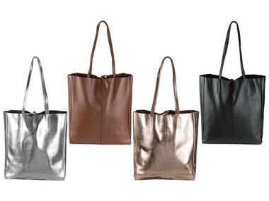 ESMARA® Kožená taška Shopper