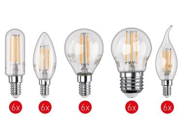 LIVARNOLUX® Sada filamentových žárovek